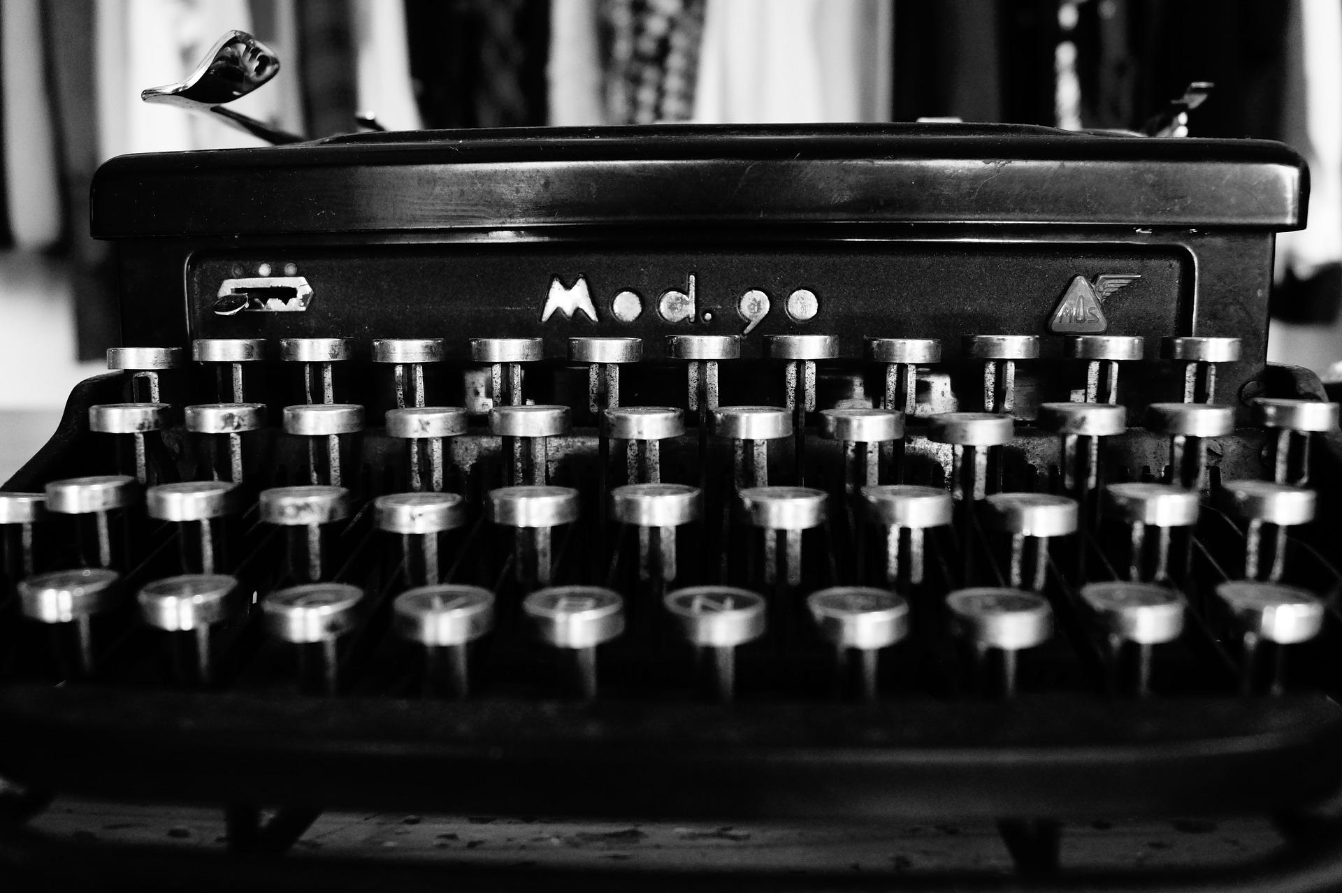 %name typewriter
